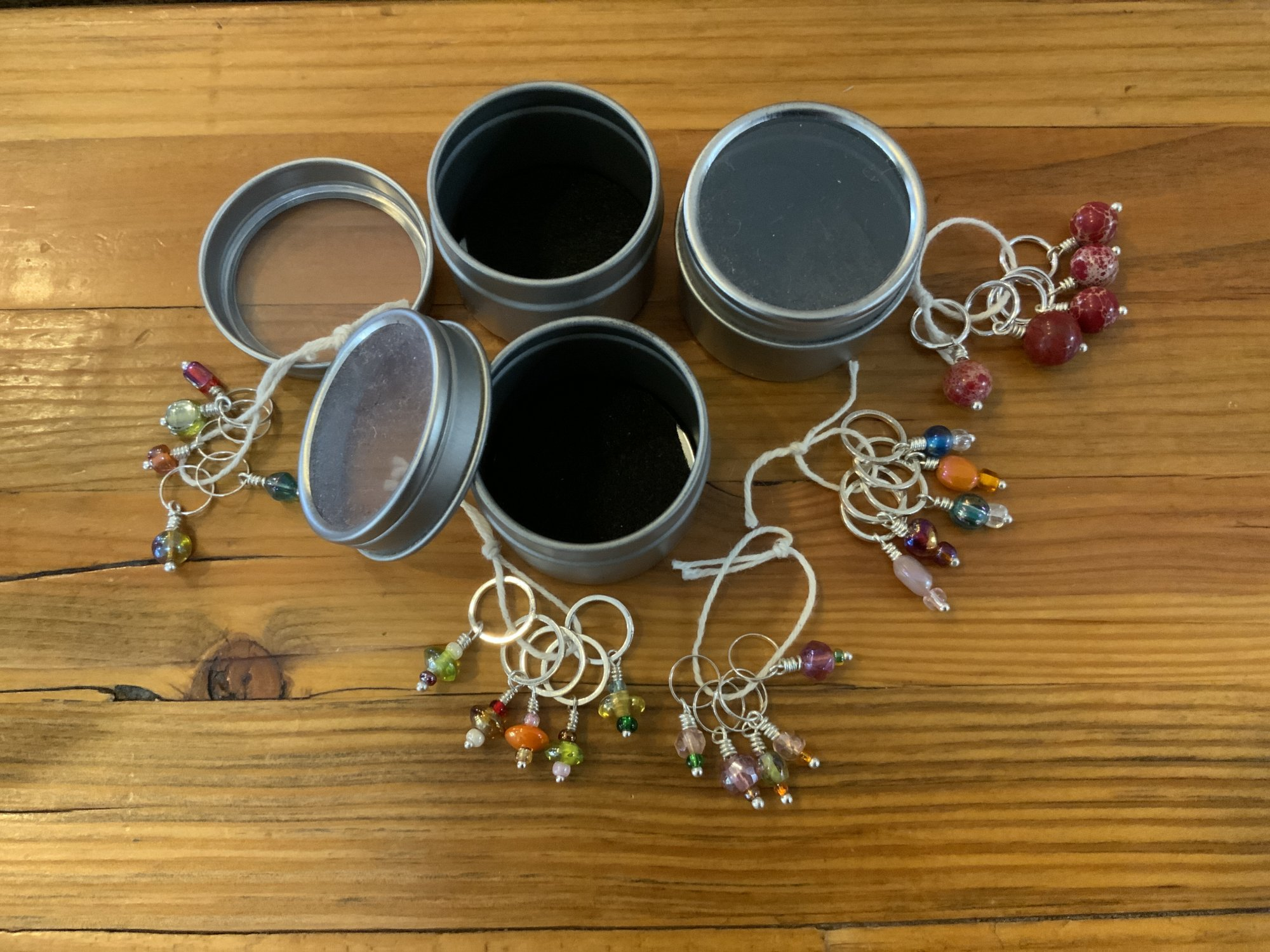 Black Sheep Creamery Stitch Markers