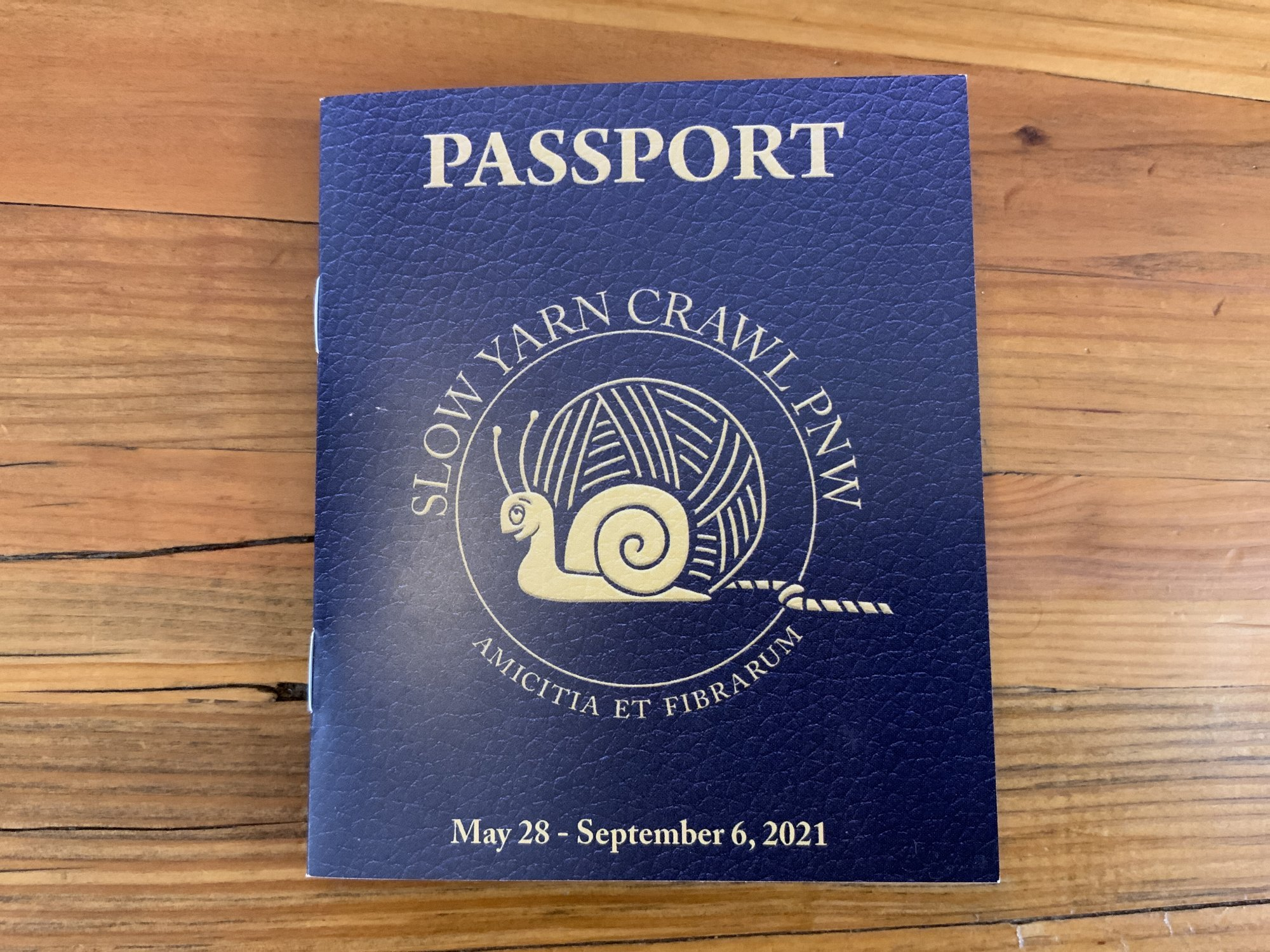 Slow Crawl Passport