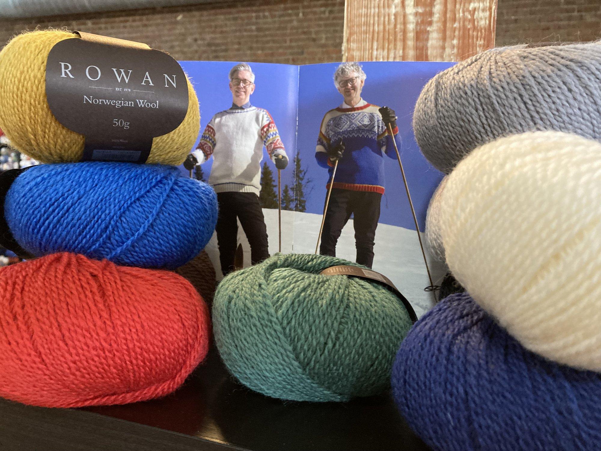 Rowan, Norwegian Wool Pattern Book