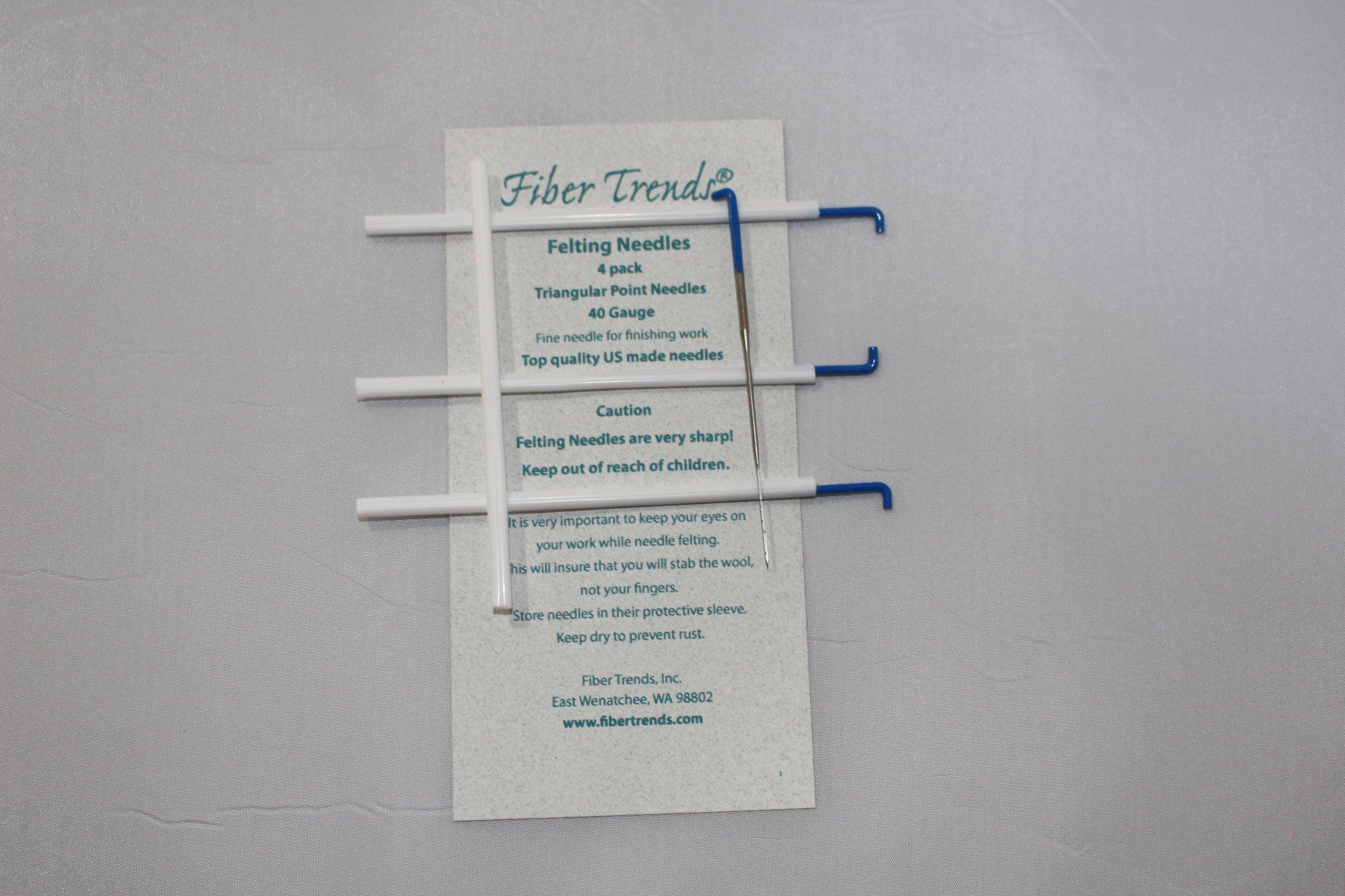 Fiber Trends Felting Needles Gauge 40 pack of 4