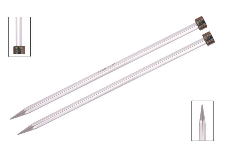 Knitter's Pride Nova Platina 10 Single Point Needles