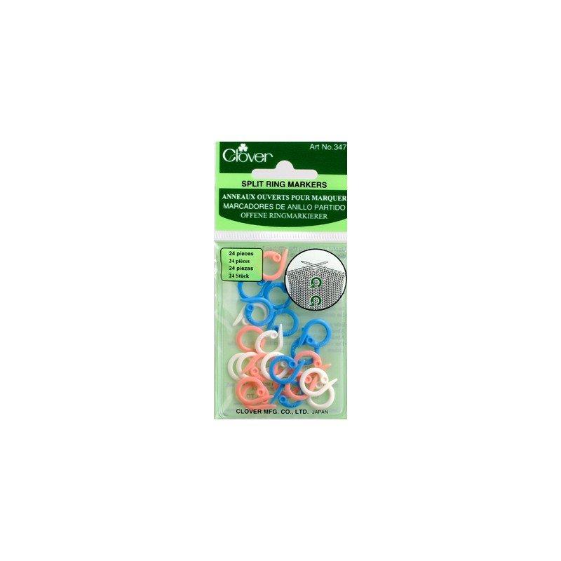 Clover Split Ring Stitch Markers 347