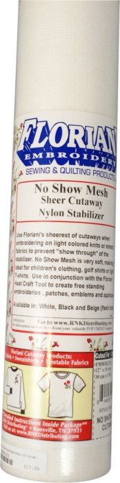 FMWH2010 No Show Mesh Stabilizer 20 x 10 yds