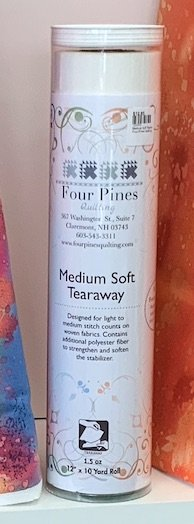 FPQ Medium Soft Tearaway Stabilizer 12 x 10 yd