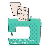 Voted for your favorite quilt shop!
