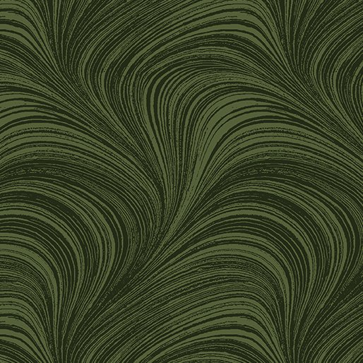 Wave Texture 44 Dark Green