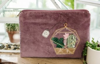 FITB April Zipper Pouch