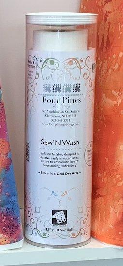 FPQ Sew N' Wash Stabilizer 12 x 10 yd