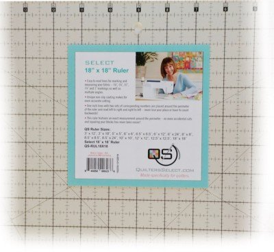 Quilters Select 18 x 18 Ruler