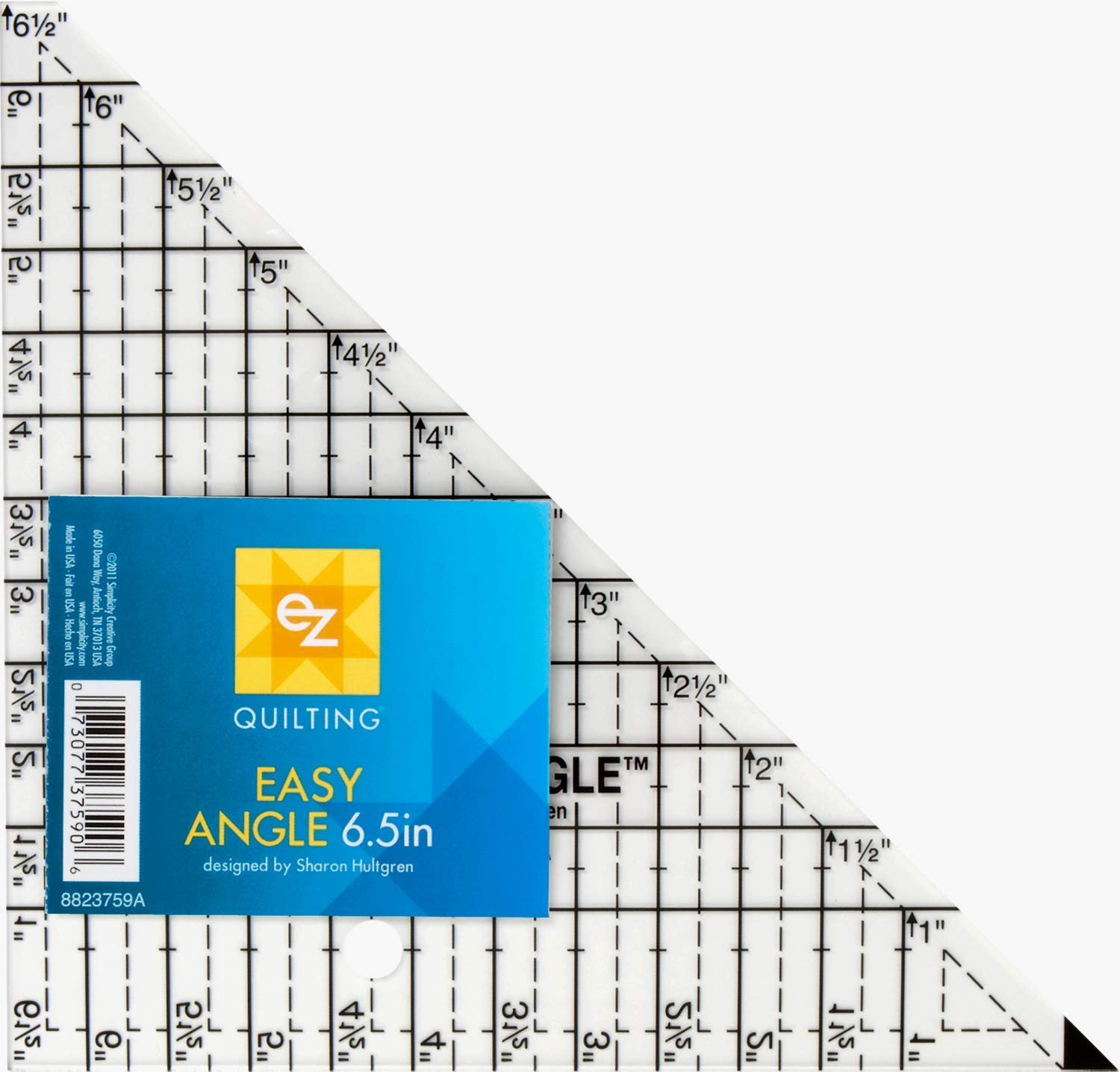 Easy Angle 6.5 Acrylic Template