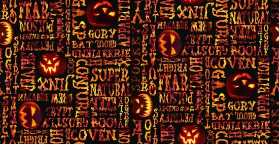 Fright Night 9176G-99 Glow Words