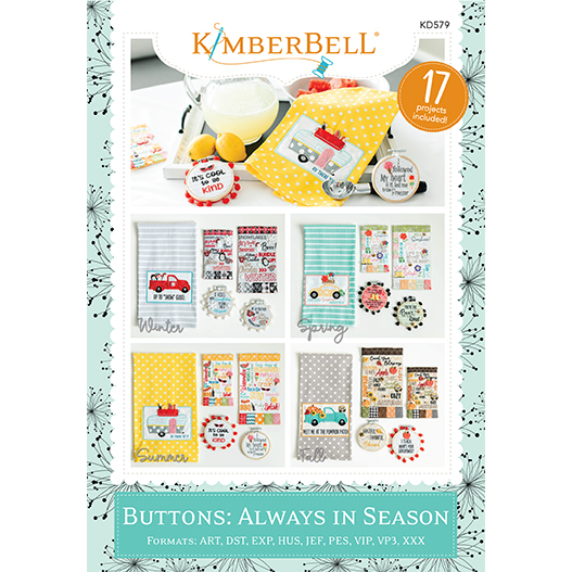 Kimberbell Buttons: Always in Season CD