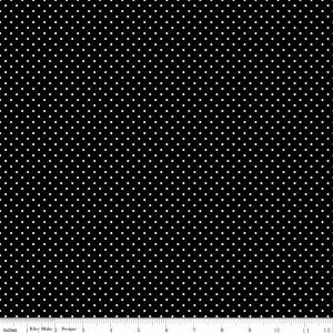 Swiss Dot 110 Black
