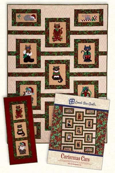 Christmas Cats - Pattern/CD
