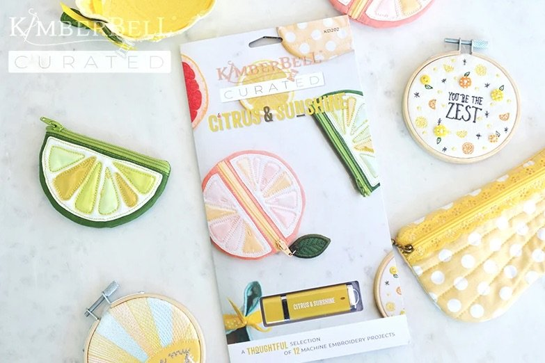 Kimberbell Curated: Citrus & Sunshine USB