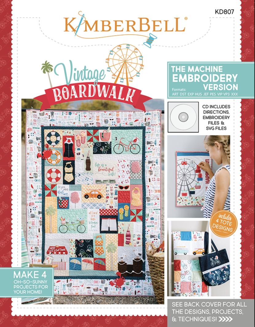 Kimberbell Vintage Boardwalk - Embroidery Version