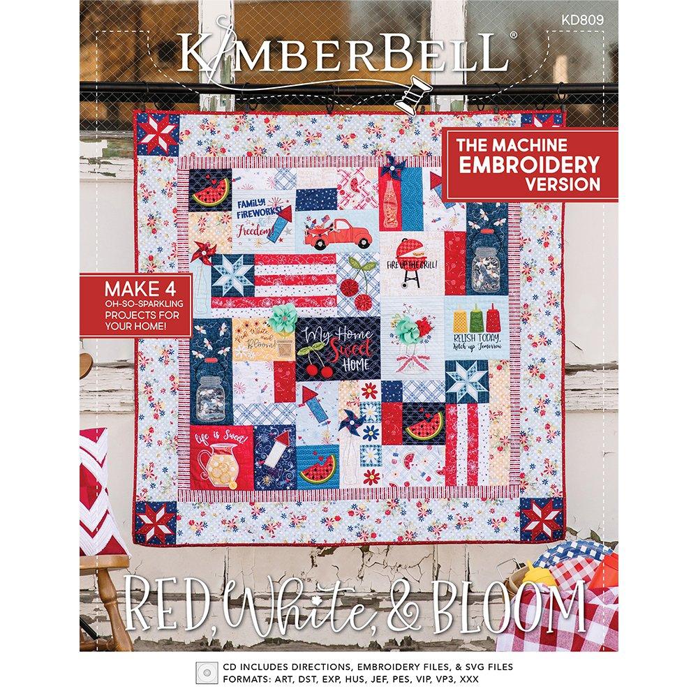 Kimberbell Red, White, & Bloom Kit