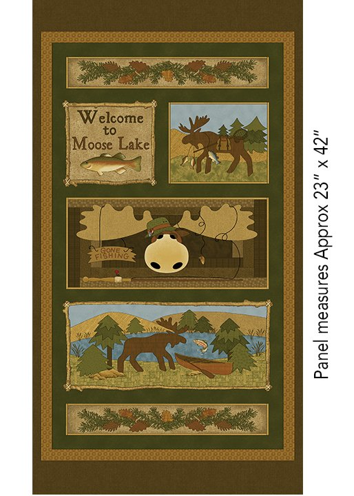 Moose Lake Panel Brown/Multi