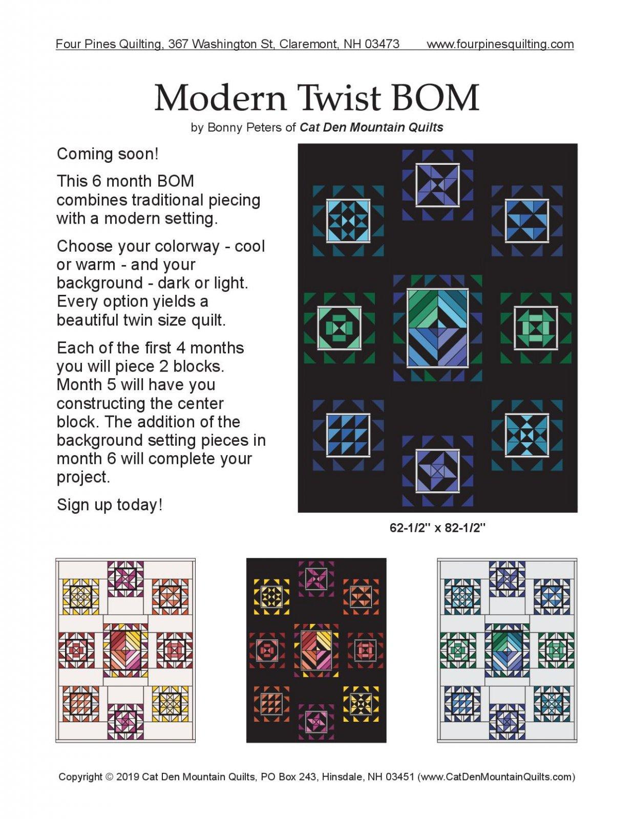 Modern Twist BOM Month 1