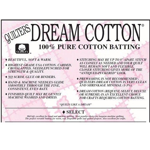 Dream Cotton Crib Batting