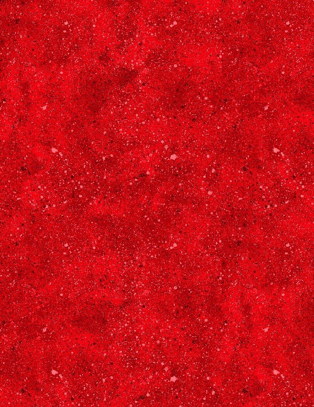 Essentials 88-339 Spatter - Cherry Red