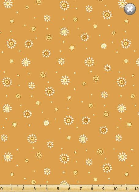 SusyBee 20104-430 Whimsy Dots Tangerine