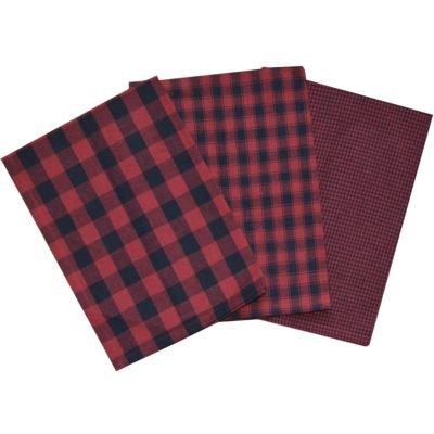 Tea Towel 801-690 Black Red
