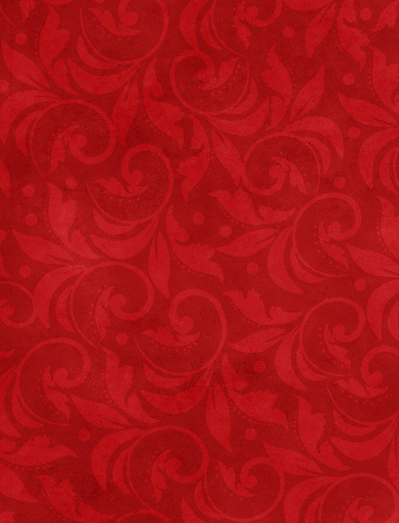108 Scroll 2029-333 Red