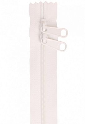 Handbag Zipper 30 Pink - Double-Slide
