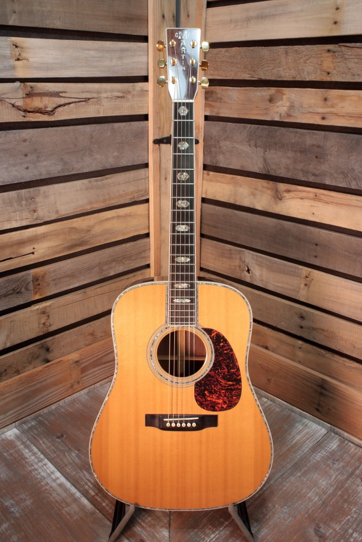 Used (2004) Martin D-45 Acoustic Dreadnought Guitar with Case