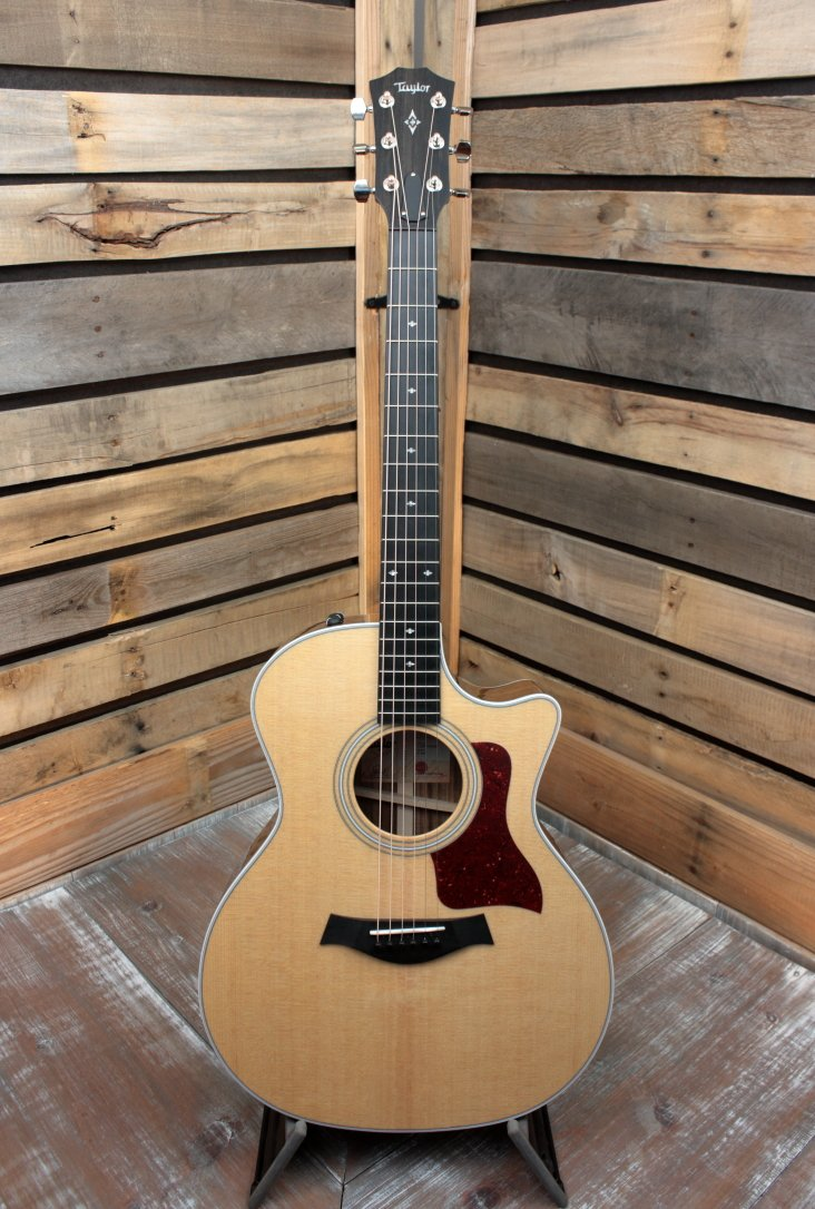 Taylor 414ce with V-Class Bracing Hardshell Case Included