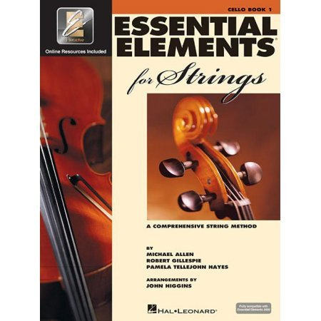 Essential Elements for Strings Cello Book One A Comprehensive String Method- Online Resurces Included