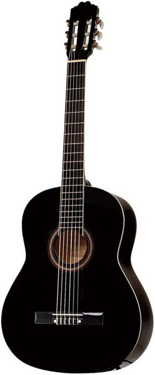 Takamine GC3BLK Black Nylon String Classical Guitar