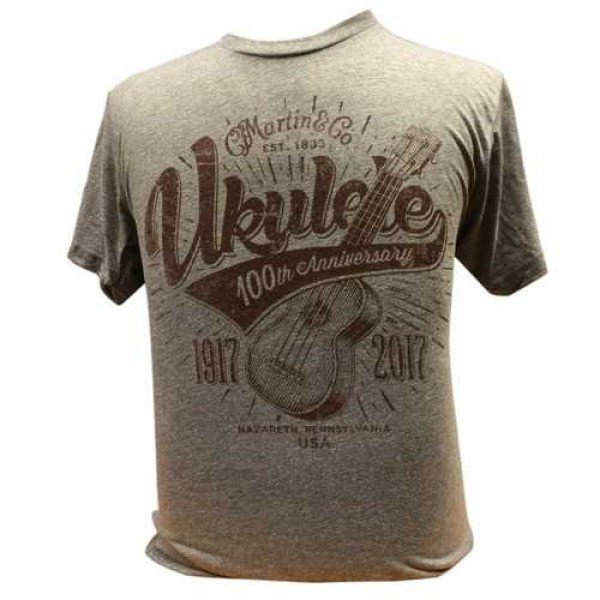 Martin 100th Anniversary Ukulele Short Sleeve Shirt