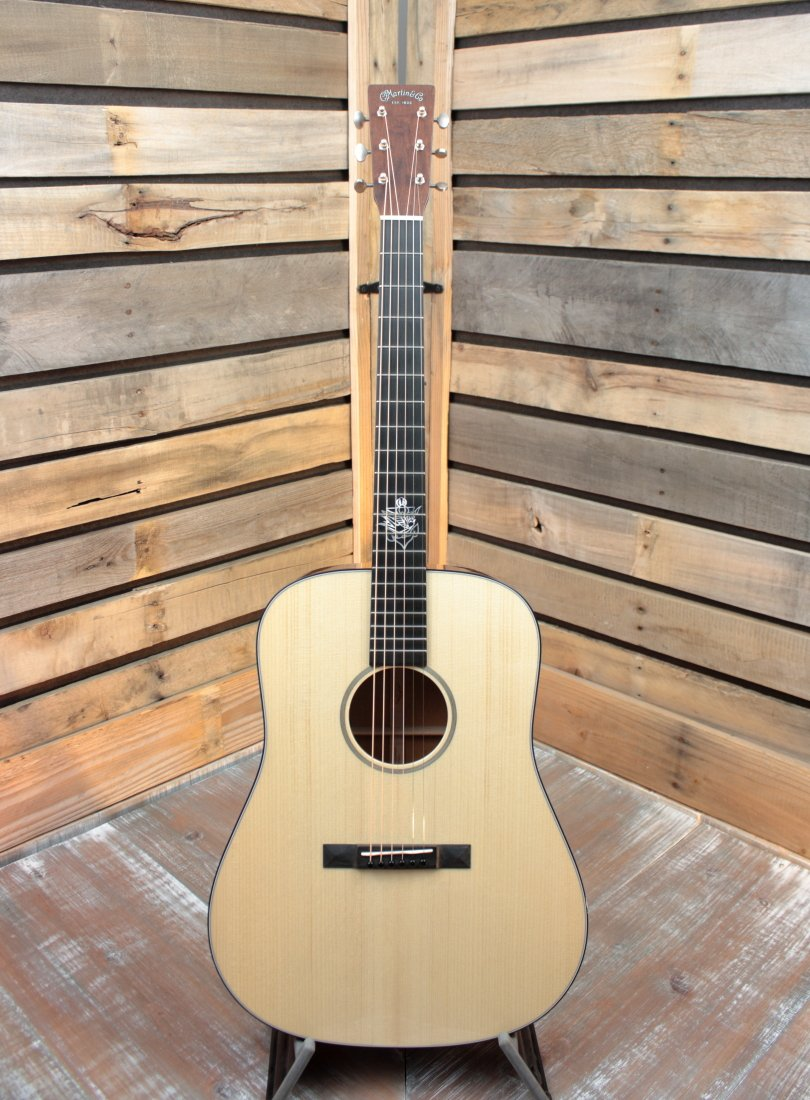 Martin D-18 Jason Isbell Signature Dreadnought Acoustic/Electric Guitar with Hardshell Case