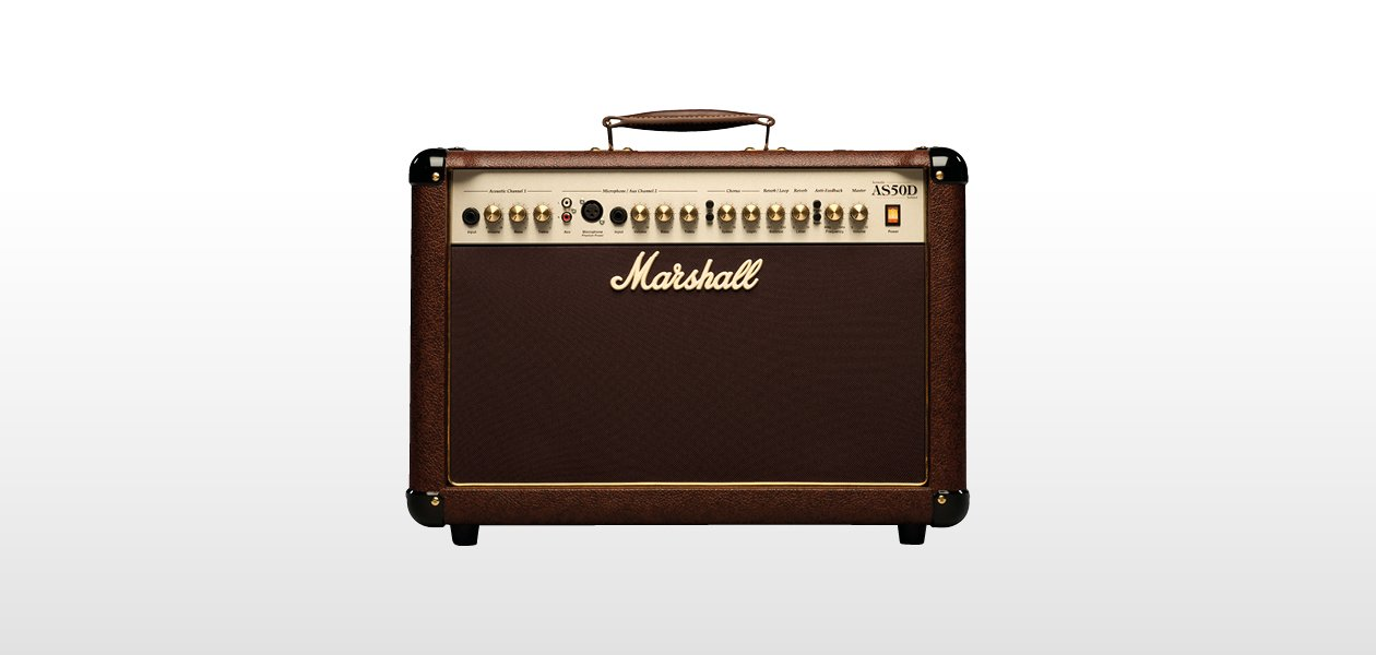 Marshall AS50D 50W Combo Acoustic Guitar Amplifier