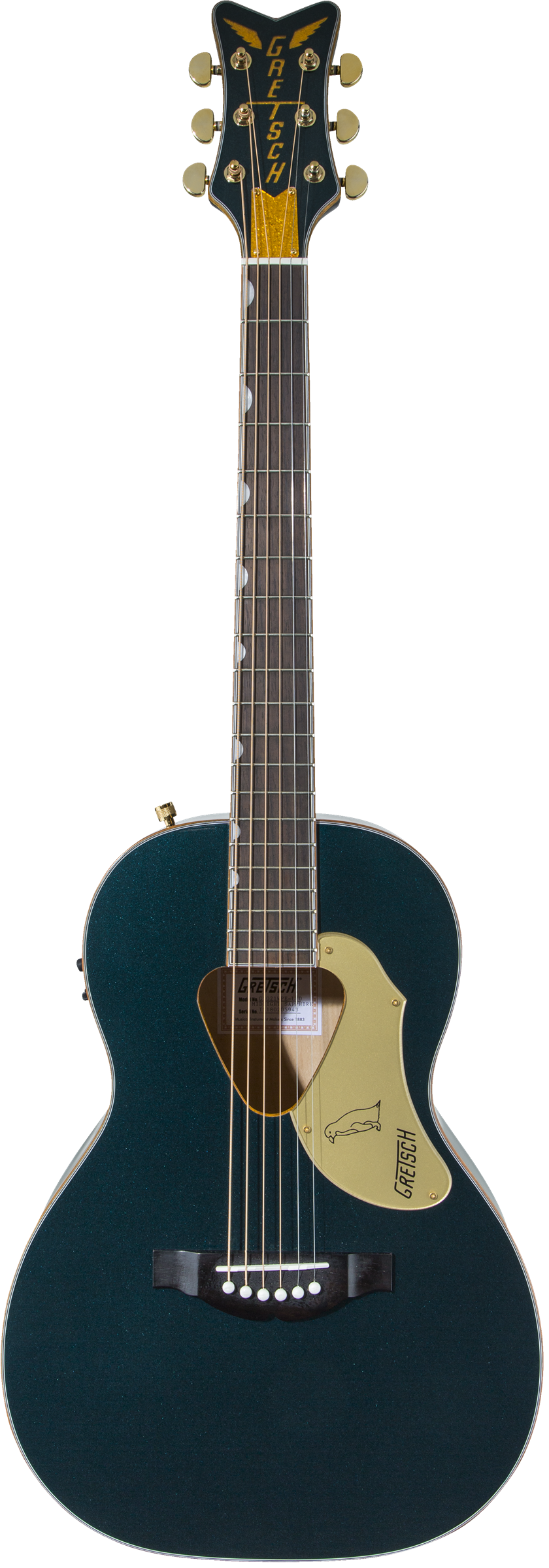Gretsch G5021E-LTD Rancher Penguin Parlor Acoustic/Electric Guitar in Midnight Sapphire