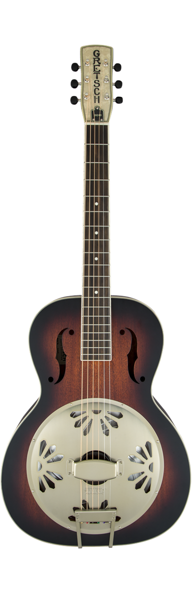 Gretsch G9240 Alligator Biscuit Round-neck Resonator Guitar