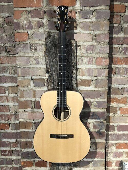 Danny Davis 471 Parlor Acoustic Guitar with Case