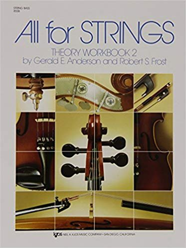 All For Strings Theory Workbook String Bass Book Two