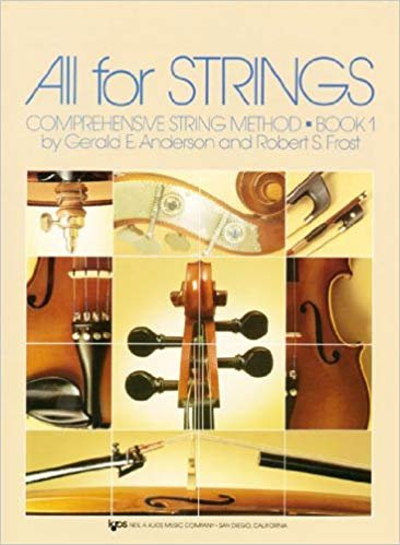 All For Strings Comprehensive String Method String Bass Book One