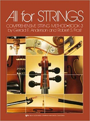 All For Strings Comprehensive String Method Cello Book Three