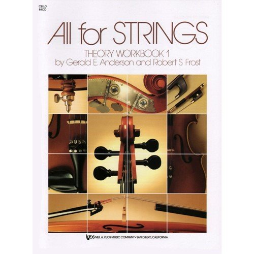 All For Strings Theory Workbook Cello Book One