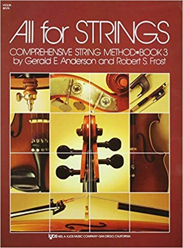 All For Strings Comprehensive String Method Violin Book Three