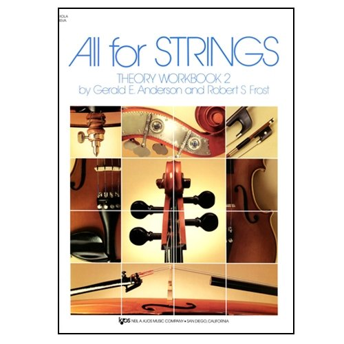 All For Strings Theory Workbook Viola Book Two