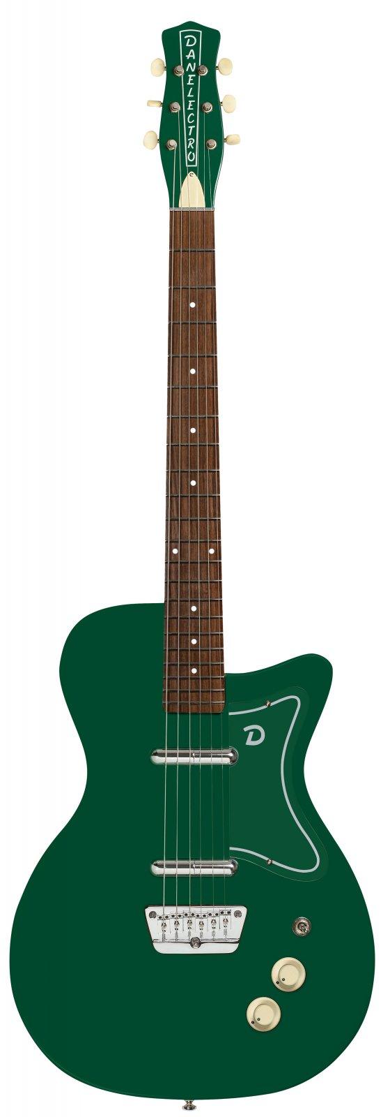Danelectro '57 Jade Semi-Hollow Electric Guitar