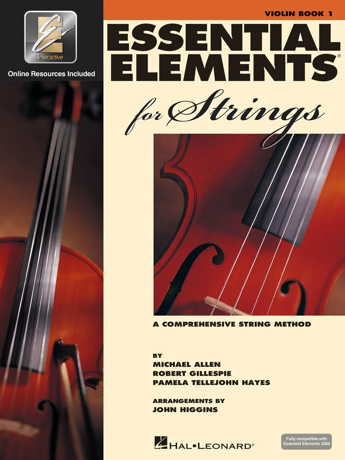 Essential Elements for Strings Violin Book One A Comprehensive String Method- Online Resurces Included