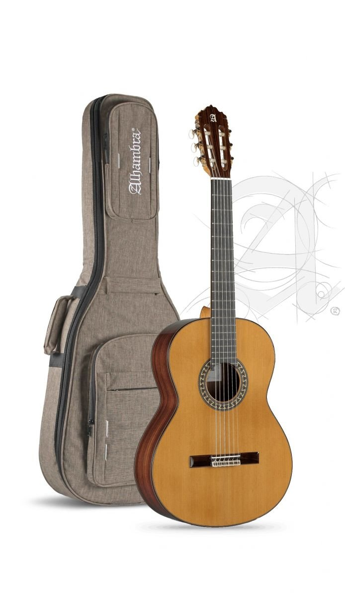 Alhambra 5P Classical Guitar with Hard Gigbag