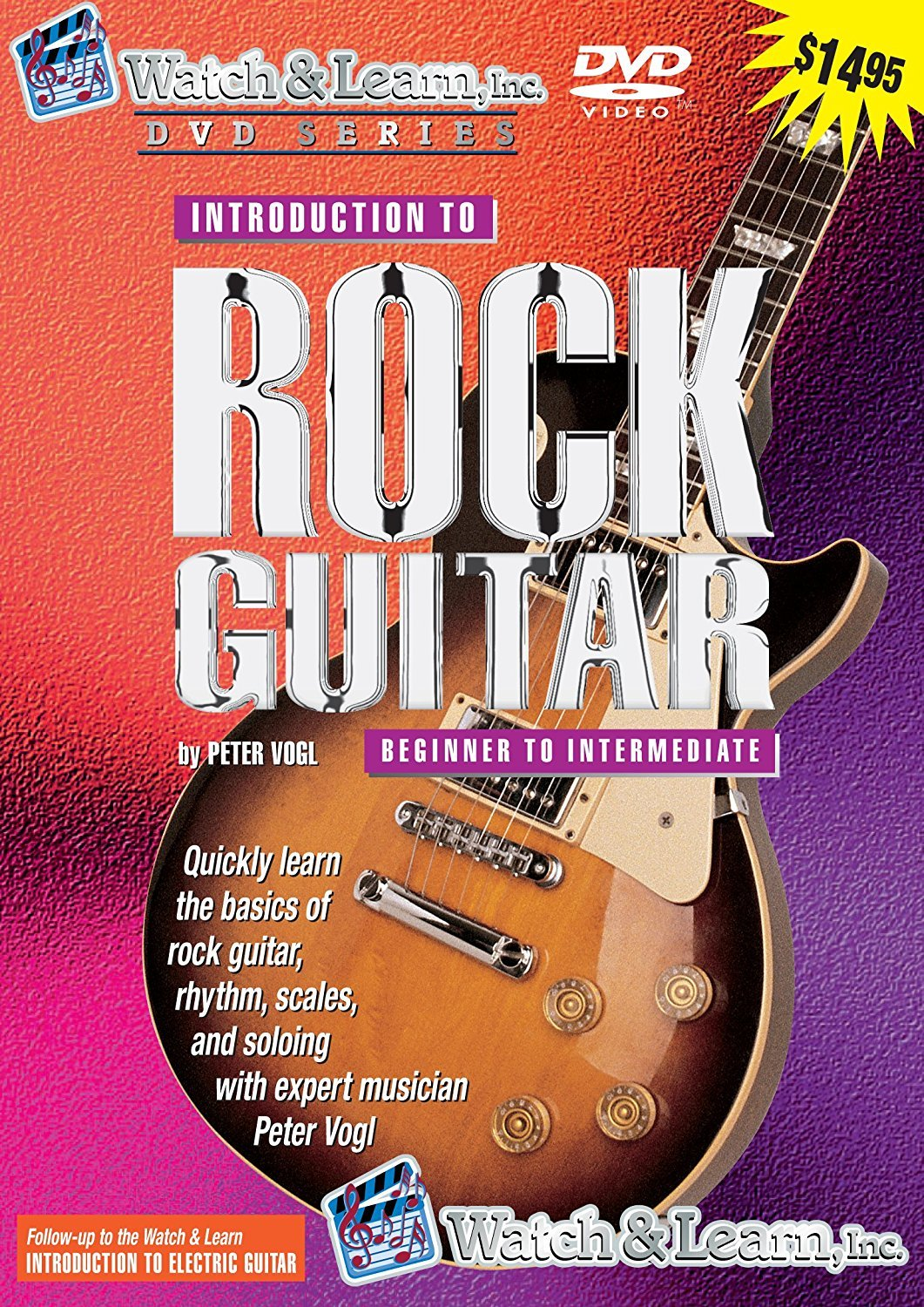 Rock Guitar Guitar DVD
