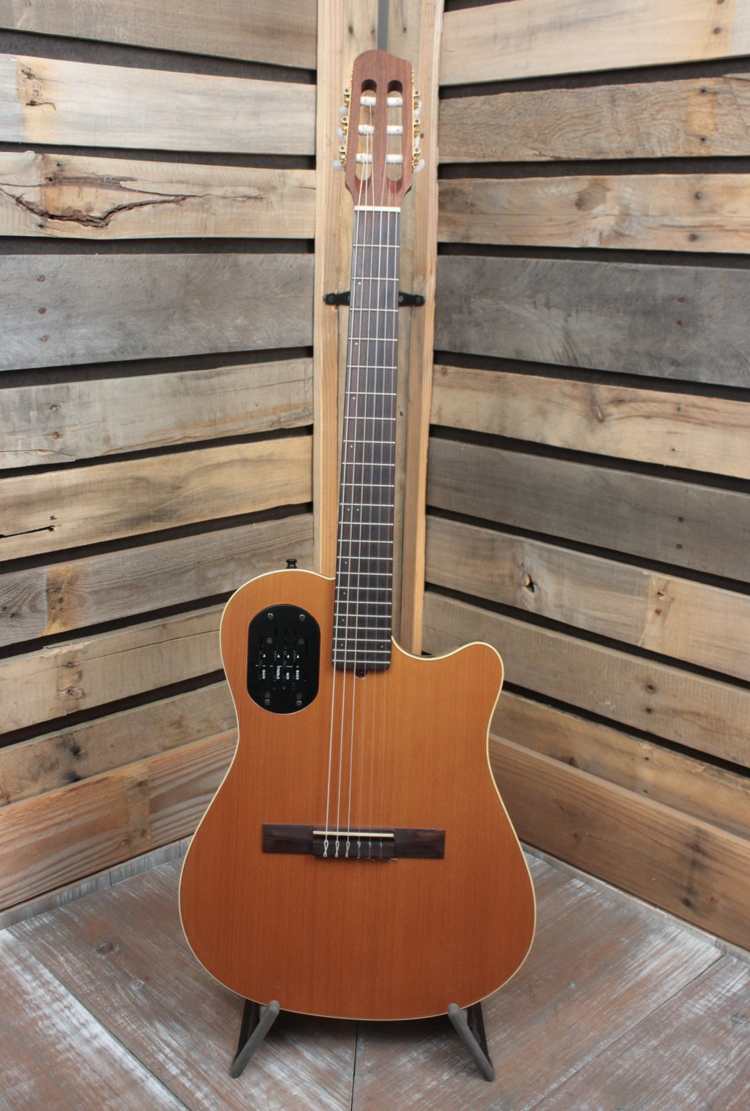 Used (1996) Godin Classical Nylon Acoustic/Electric Guitar with Hardshell Case